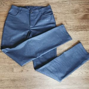 Lafayette 148 Thompson Green Mid-Rise Waxed Jeans…